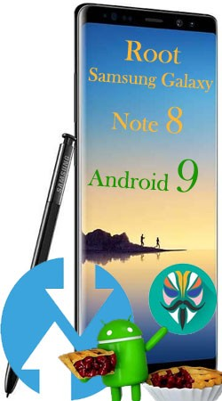 Rootear Samsung Galaxy Note 8 con Android 9 Pie