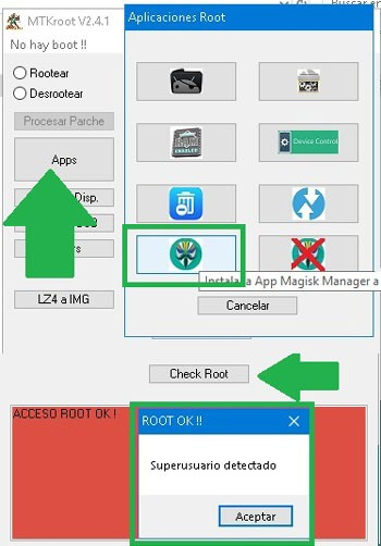 Check Root Cubot X6