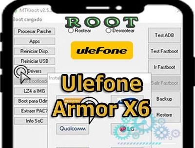 Root para terminales Ulefone Armor X6
