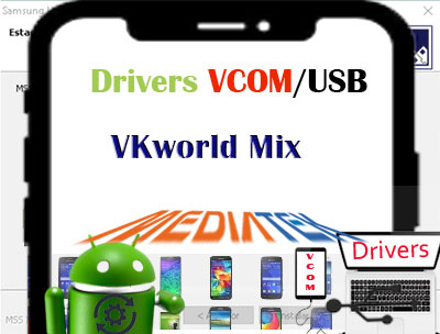 Descargar controladores USB Mediatek VKworld Mix